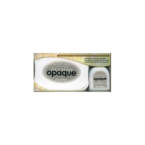 Stazon inktkussen set opaque Ivory black SZ-000-182