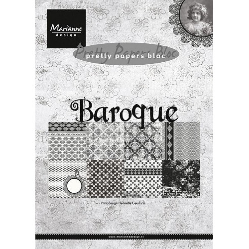 Marianne D Paper pad Baroque PK9119 (New 01-15)