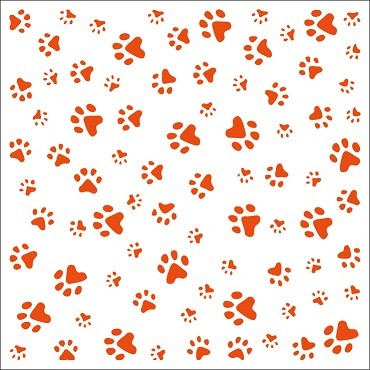 Marianne D Embossing folder Paws DF3411 (New 01-15)