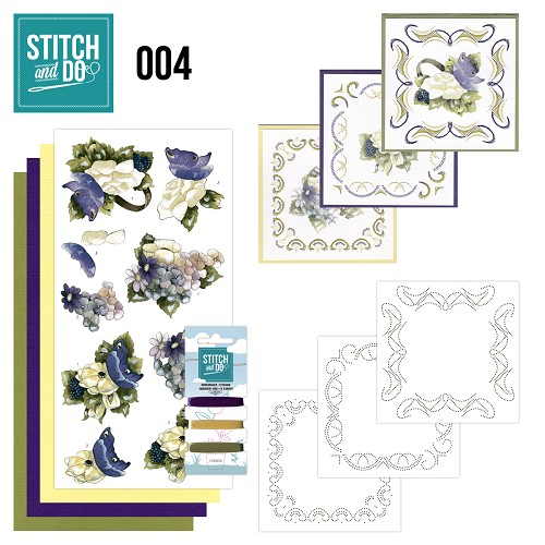 Stitch & Do 4 - Voorjaarsbloemen