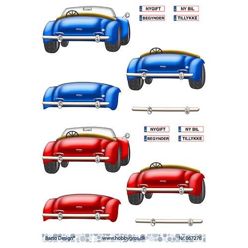 stappenvel A4 auto Barto Design