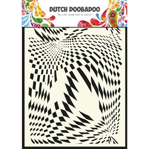 Dutch Doobadoo - Mask Art - Pop art-A5