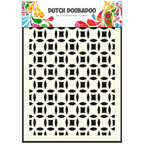 Dutch Doobadoo Dutch Mask Art stencil small circles A5