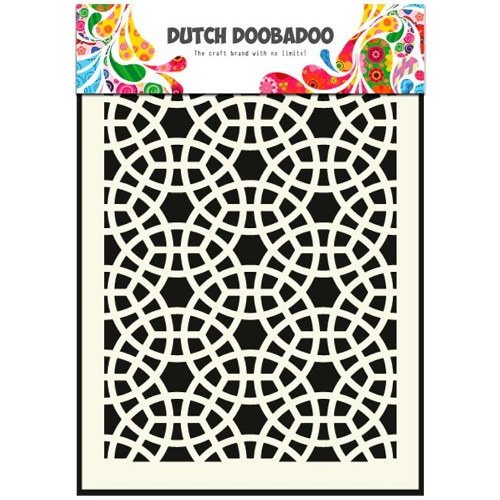 Dutch Doobadoo Dutch Mask Art stencil mosaic A5