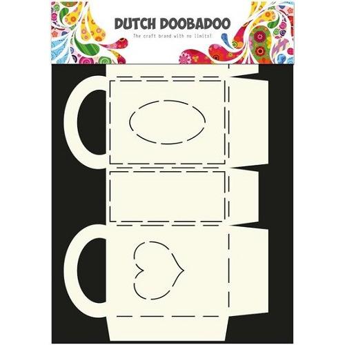 Dutch Doobadoo Dutch Box Art tasje rechthoekig met hengsel A4