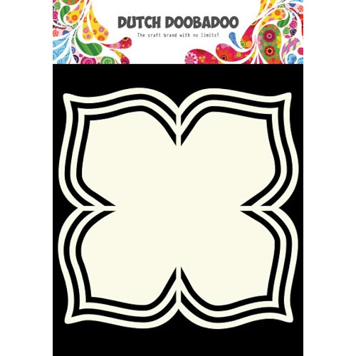 Dutch Doobadoo Dutch Shape Art frames bloem + 4 bladeren A4