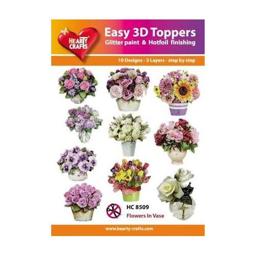 Easy 3D Designs pakket Flowers in Vase