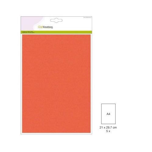 (1 PK) Papiervel-CV oranje 5 ST A4 90GR