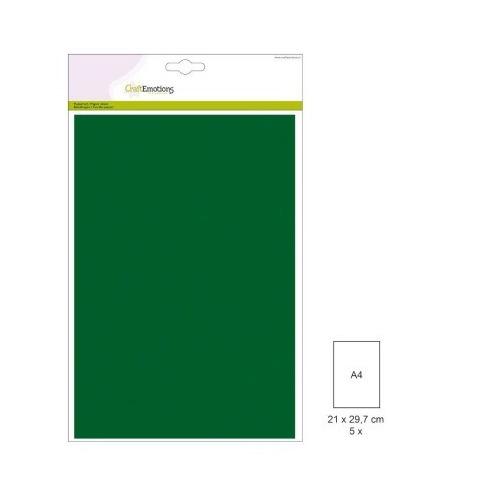 (1 PK) Papiervel-CV dennegroen 5 ST A4 90GR