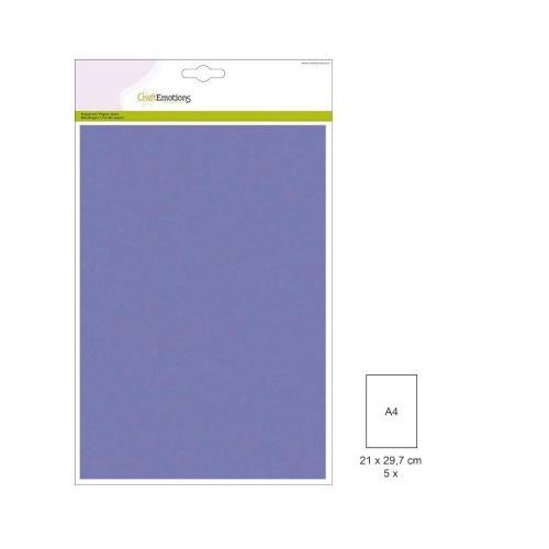 (1 PK) Papiervel-CV violet 5 ST A4 90GR