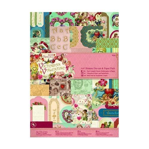 Ultimate Die-cut & Paper Pack - Victorian Valentine