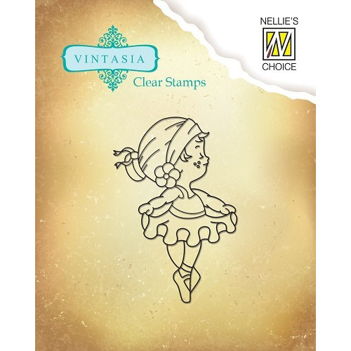 Clear stamps Vintasia Cute Embition