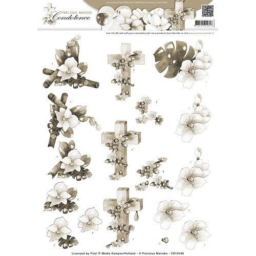 3D Knipvel - Precious Marieke - Condoleance - Sympathy Flowers S