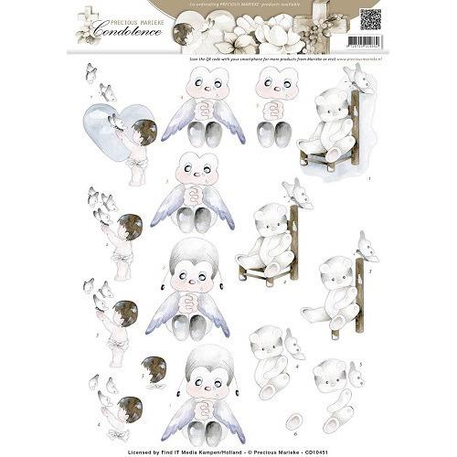 3D Knipvel - Precious Marieke - Condoleance - Sympathy Flowers C