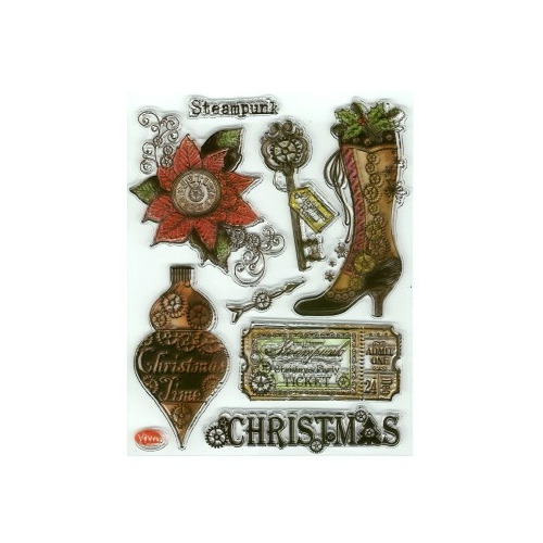 Clear Stamps - Steampunk Christmas