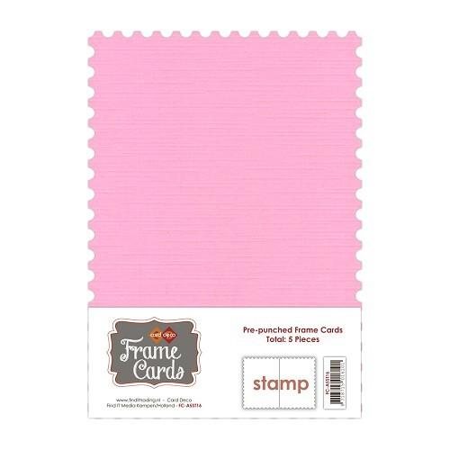 Frame Cards - A5 - Roze