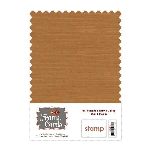 Frame Cards - A5 - Koffiebruin