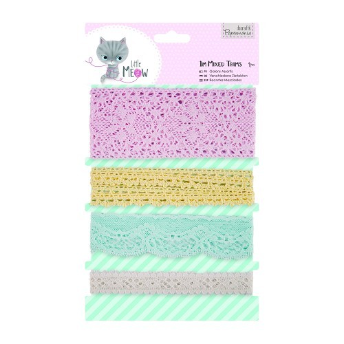 1m Mixed Trims (4pcs) - Little Meow
