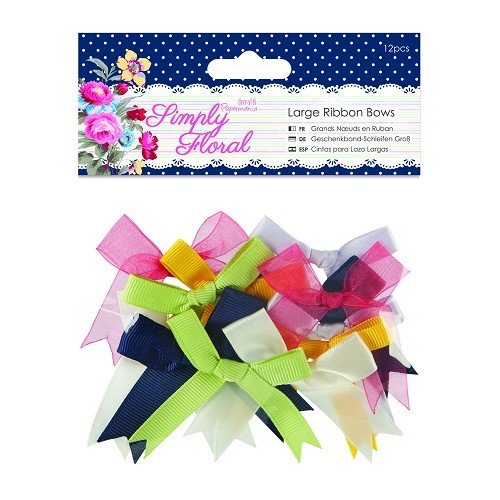 Ribbon Bows (12pcs) - Simply Floral