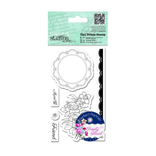 Tall Urban Stamps - Flower Doily