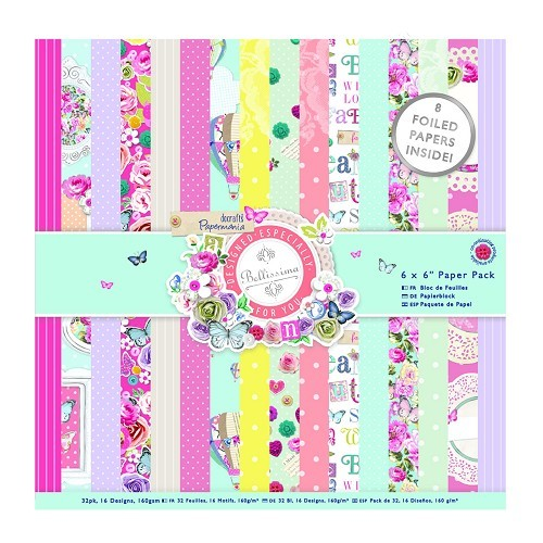 6 x 6 Paper Pack (32pk) - Bellissima