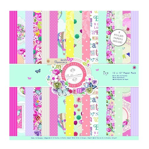 12 x 12 Paper Pack (32pk) - Bellissima