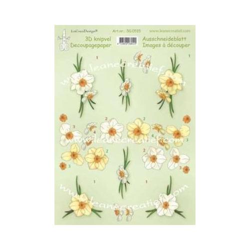 LeCrea - 3D knipvellen Daffodils