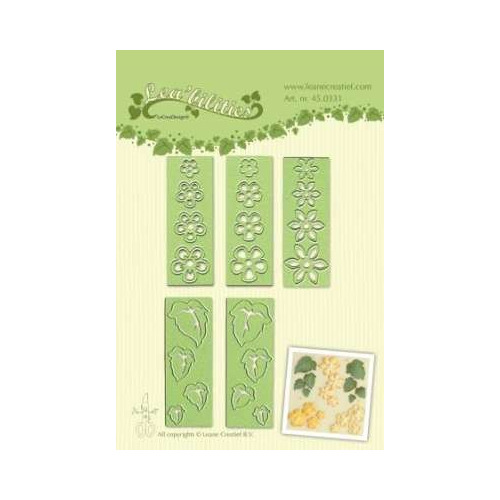 LeCrea - Lea?bilitie Small flowers & leaves snij en embossing