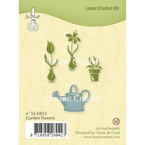 Clear stamp Garden flowers