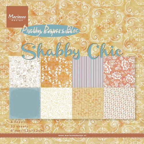 Marianne D Paper pad Shabby chic PK9121 (New 02-15