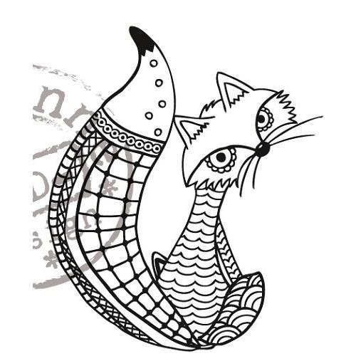 Marianne D Stempel Doodle Fox EWS2211 (New 02-15)