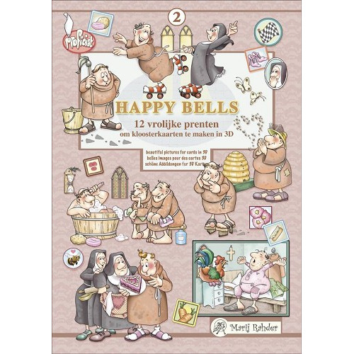 Marij Rahder Happy Bells 02 3D Book
