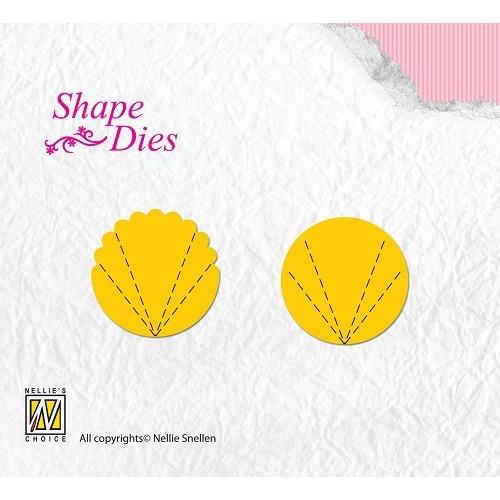 Shape Dies Flower Fan A+B