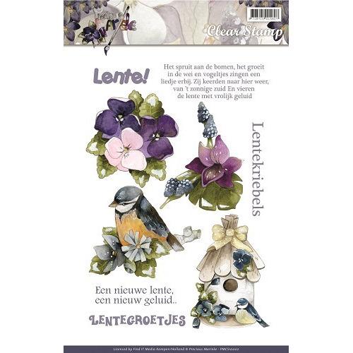 Clear Stamp - Precious Marieke - Voorjaars Collectie 2