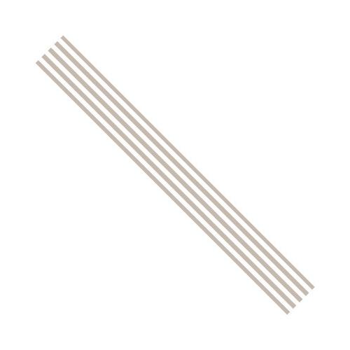 Rosa Dotje Lint 3m Old Cotton Stripes Bruin