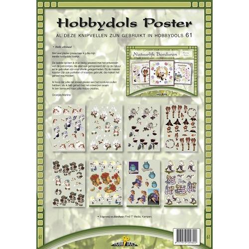 hobbydols knipvel poster - hd61