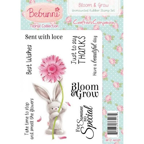 Bebunni Floral Stamp - Bloom And Grow