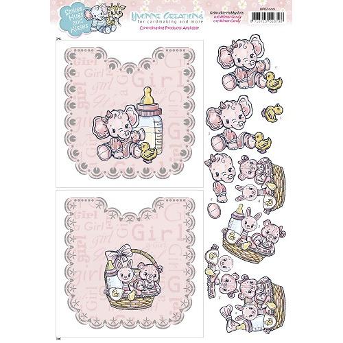 Hobbydots Sheets - Yvonne Creations - Baby Girl