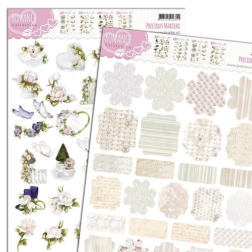 3D Knipvel - Push Out - Precious Marieke - Romance - Minis & Labels