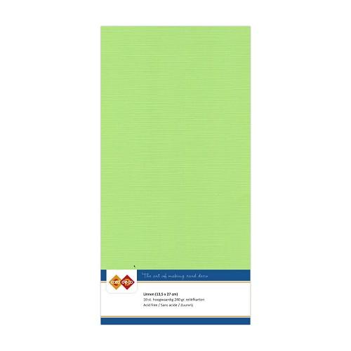 Linnenkarton - Vierkant - Mei groen