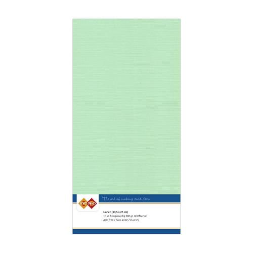 Linnenkarton - Vierkant - Midden groen
