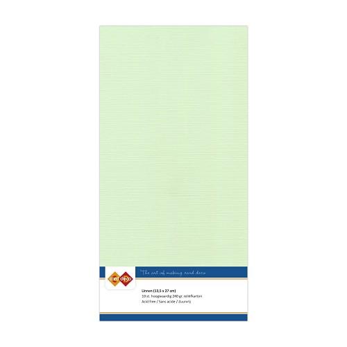 Linnenkarton - Vierkant - Licht groen