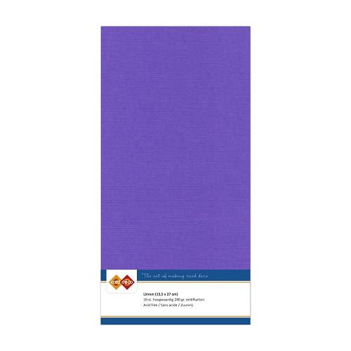 Linnenkarton - Vierkant - Violet