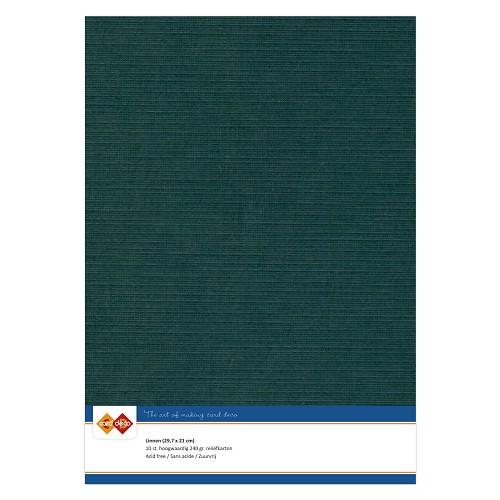 Linnenkarton - A4 - Jade