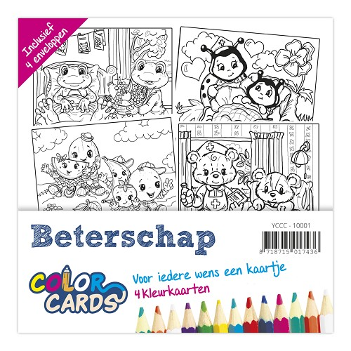 Color Cards 1 - Yvonne Creations - Beterschap