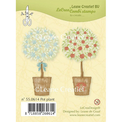 Clear stamp Pot plant
