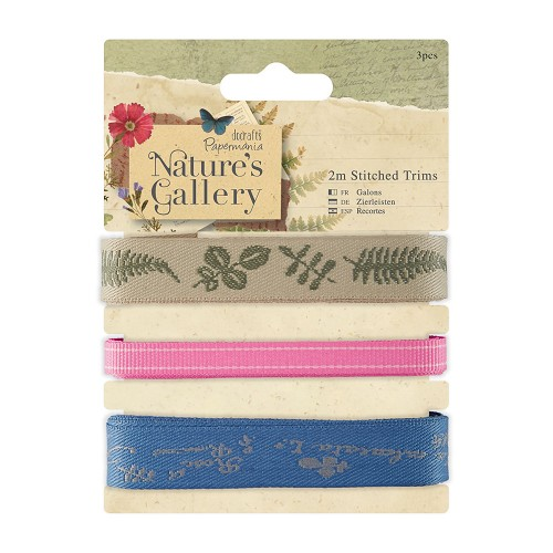 2m Stitched Trims (3pcs) - Nature`s Gallery