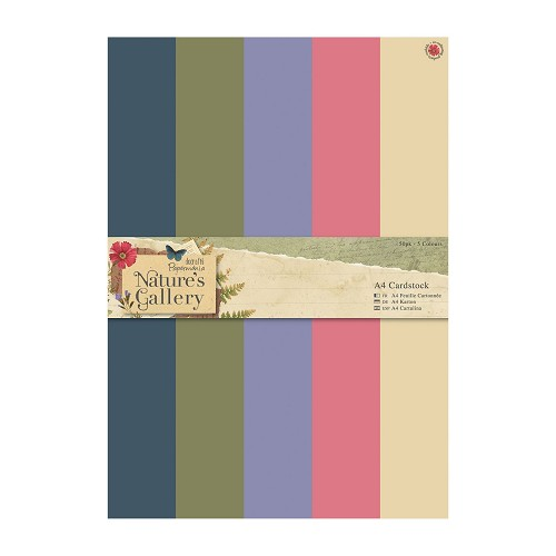 A4 Cardstock Packs (50pk) - Nature`s Gallery