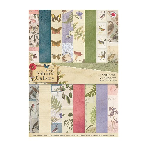 A5 Paper Pack (32pk) - Nature`s Gallery
