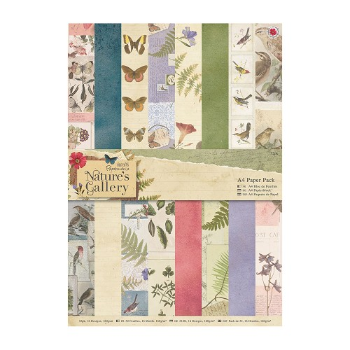 A4 Paper Pack (32pk) - Nature`s Gallery